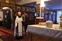 Рождество Христово бдение Свято-Иверский монастырь 06,01,2017