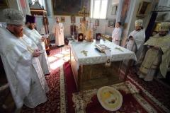 24,04,2021 Божественная литургия в храме Рождества Пресвятой Богородицы на Слободке