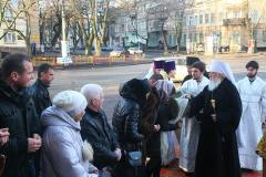 6.01.2018 литургия Спасо-Преображенский кафедральный собор