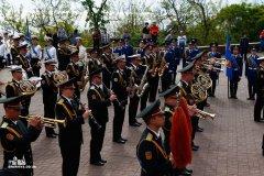 По благословению митрополита Агафангела епископ Диодор принял участие в торжественном возложении цветов к памятнику Неизвестному матросу и монументу воинам-освободителям на площади 10 апреля.