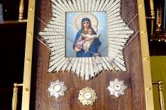 Часть пояса, ризы и часть ризы Христа