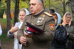 Епископ Диодор освятил поклонный крест в парке им. А. М. Горького